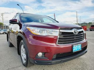 Used 2016 Toyota Highlander XLE, ACCIDENT FREE for sale in Surrey, BC