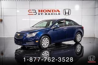Used 2011 Chevrolet Cruze LT + A/C + AUTO + CRUISE + WOW! for sale in St-Basile-le-Grand, QC