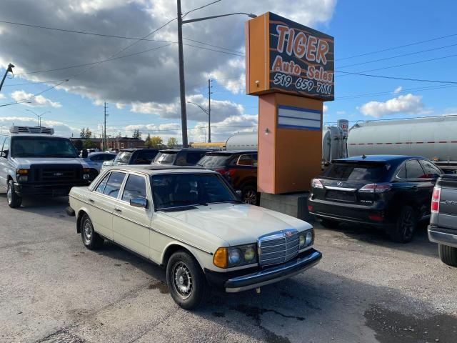 1983 Mercedes-Benz 300 Series TURBO DIESEL*RUNS&DRIVES GREAT*AS IS