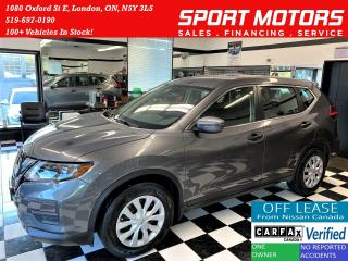 Used 2017 Nissan Rogue S FEB SafetyShield+Blind Spot+Camera+ACCIDENT FREE for sale in London, ON