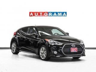 Used 2017 Hyundai Veloster Turbo Navigation Leather Sunroof Bcam for sale in Toronto, ON