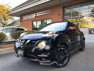 Used 2017 Nissan Juke Nismo Turbo AWD Navi 360 multi view cam Certified* for sale in Concord, ON