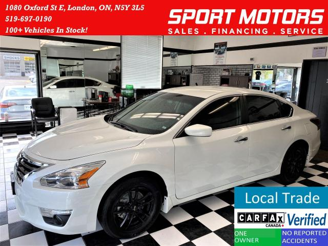 2015 Nissan Altima 2.5 S+2 Tone Heated Leather+Camera+ACCIDENT FREE
