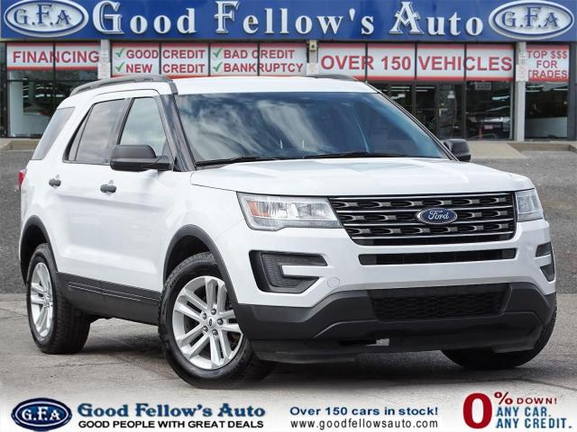 2016 Ford Explorer BASE, 4WD, 7 PASS, POWER SEATS, REARVIEW CAMERA