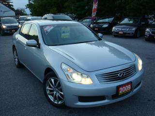 Used 2009 Infiniti G37 Luxury for sale in Ajax, ON