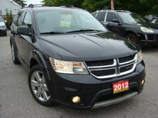 Used 2012 Dodge Journey SXT for sale in Ajax, ON