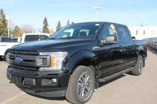New 2020 Ford F-150 XLT 301A, 4X4 Supercrew, 2.7L Ecoboost, Auto Start/Stop, Cruise Control, Pre-Collision Assist, Rear View Camera, Remote Keyless Entry, Trailer Tow Package for sale in Edmonton, AB