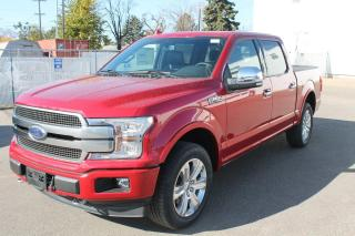 New 2020 Ford F-150 Platinum 700A, 4X4, 3.5L V6, Auto Start/Stop, Power Heated/Ventilated Seats, Cruise Control, Lane Keeping System, Pre-Collision Assist, Remote Keyless Entry/Keypad, Trailer Tow Package, Navigation, Mo for sale in Edmonton, AB
