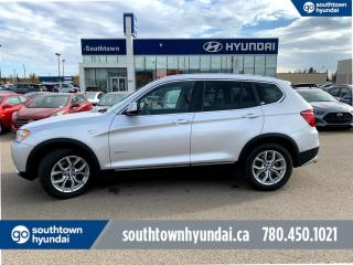 Used 2014 BMW X3 xDRIVE 28i/AWD/LEATHER/NAVI/PANO ROOF/BACK UP CAM for sale in Edmonton, AB