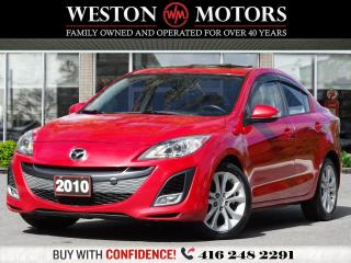 Used 2010 Mazda MAZDA3 LEATHER*NAVI*SUNROOF*HEATED SEATS!!* for sale in Toronto, ON