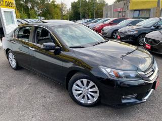 Used 2013 Honda Accord EX-L/ LEATHER/ ROOF/ CAM/ BLUETOOTH/ ALLOYS ++ for sale in Scarborough, ON