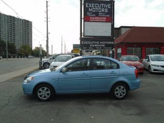 Used 2009 Hyundai Accent Auto GL / MINT / LOW KM / PWR GROUP / CERTIFIED for sale in Scarborough, ON