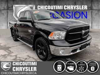 Used 2016 RAM 1500 QUAD  4X4 OUTDOORSMAN for sale in Chicoutimi, QC