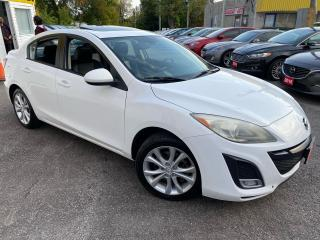 Used 2011 Mazda MAZDA3 GT/ AUTO/ LEATHER/ ROOF/ BLUETOOTH/ ALLOYS ++ for sale in Scarborough, ON