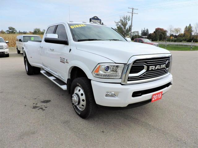 2018 RAM 3500 Limited Diesel 4X4 Leather Loaded Only 45000 km