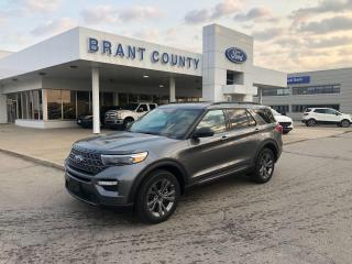 Used 2021 Ford Explorer XLT for sale in Brantford, ON