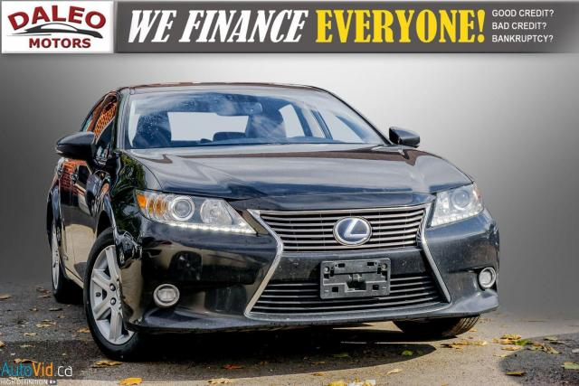2014 Lexus ES 300 HYBRID / LEATHER / NAVI / SUNROOF / HEATED SEATS /