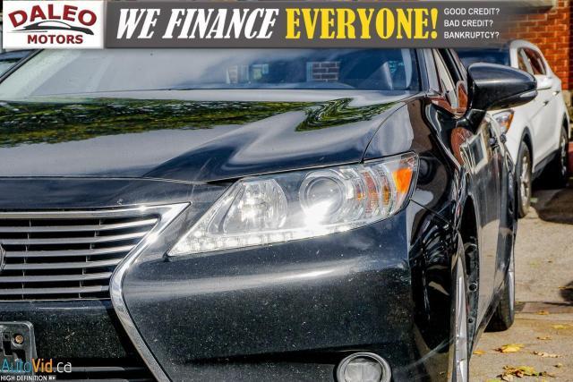 2014 Lexus ES 300 HYBRID / LEATHER / NAVI / SUNROOF / HEATED SEATS / Photo2