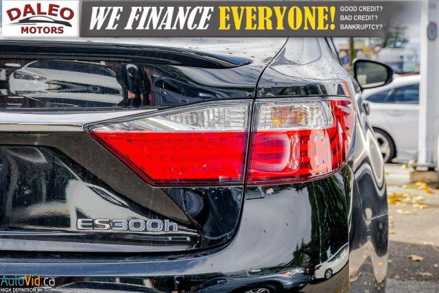 2014 Lexus ES 300 HYBRID / LEATHER / NAVI / SUNROOF / HEATED SEATS / Photo10
