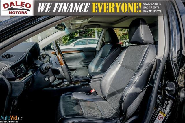 2014 Lexus ES 300 HYBRID / LEATHER / NAVI / SUNROOF / HEATED SEATS / Photo11