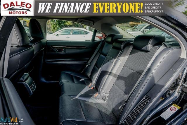 2014 Lexus ES 300 HYBRID / LEATHER / NAVI / SUNROOF / HEATED SEATS / Photo12