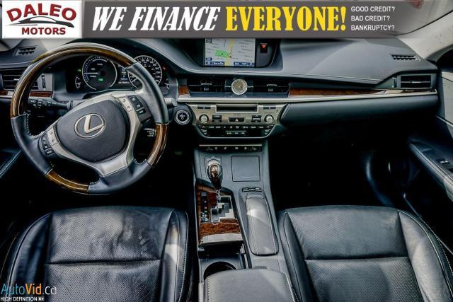 2014 Lexus ES 300 HYBRID / LEATHER / NAVI / SUNROOF / HEATED SEATS / Photo13