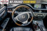 2014 Lexus ES 300 HYBRID / LEATHER / NAVI / SUNROOF / HEATED SEATS / Photo40