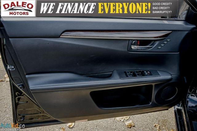 2014 Lexus ES 300 HYBRID / LEATHER / NAVI / SUNROOF / HEATED SEATS / Photo17