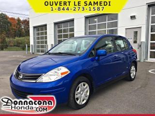 Used 2010 Nissan Versa SL *JAMAIS ACCIDENTE* for sale in Donnacona, QC