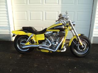 Used 2009 Harley-Davidson Fat Bob screaming eagle 110 ci for sale in Truro, NS