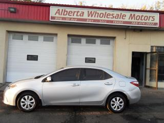 Used 2015 Toyota Corolla LE for sale in Edmonton, AB