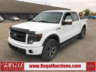 Used 2014 Ford F-150 FX4 SUPERCREW SWB 4WD 5.0L for sale in Calgary, AB