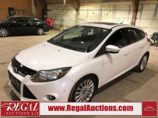 Used 2012 Ford Focus Titanium Hatchback for sale in Calgary, AB