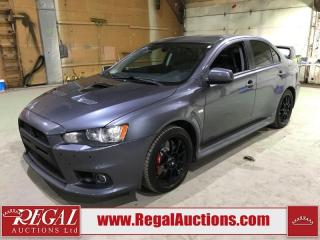 Used 2011 Mitsubishi Lancer Evolution MR 4D SEDAN AWD for sale in Calgary, AB