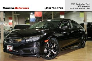 Used 2016 Honda Civic TOURING - LEATHER|SUNROOF|BACKUP|NAVI|ACC|LKA for sale in North York, ON