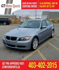 Used 2007 BMW 3 Series 328xi | $0 DOWN - EVERYONE APPROVED! for sale in Calgary, AB
