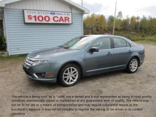 Used 2011 Ford Fusion SEL for sale in North Bay, ON