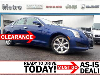 Used 2014 Cadillac ATS 2.0L Turbo Luxury AS-IS for sale in Ottawa, ON