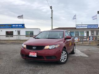 Used 2010 Kia Forte LX for sale in Whitby, ON