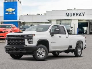 New 2020 Chevrolet Silverado 2500 HD Work Truck for sale in Winnipeg, MB