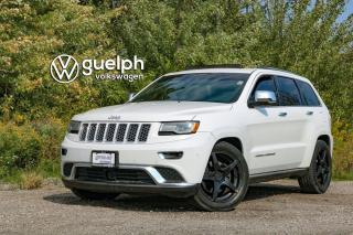 Used 2014 Jeep Grand Cherokee Summit | EcoDiesel, Heated Seats and Steering for sale in Guelph, ON