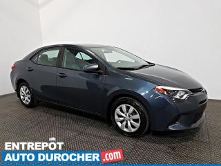 Used 2015 Toyota Corolla LE Automatique - A/C - Caméra de Recul for sale in Laval, QC