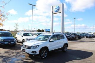Used 2017 Volkswagen Tiguan 2.0T Highline 4MOTION for sale in Whitby, ON