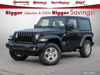 New 2021 Jeep Wrangler Sport S for sale in Etobicoke, ON