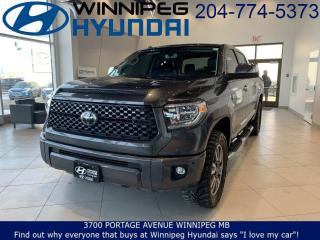 Used 2018 Toyota Tundra Platinum for sale in Winnipeg, MB