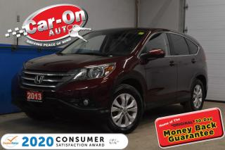 Used 2013 Honda CR-V EX-L LEATHER SUNROOF AWD for sale in Ottawa, ON
