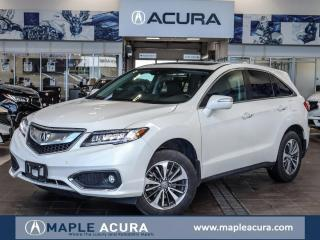 Used 2018 Acura RDX Elite, One Owner, Acura Certified Warranty for sale in Maple, ON