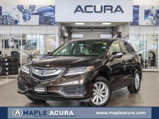 Used 2017 Acura RDX Tech,  One Owner, No Accidents, Acura Certified for sale in Maple, ON