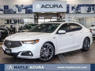 Used 2018 Acura TLX Tech A-Spec, No Accidents, Acura Certified Warrant for sale in Maple, ON