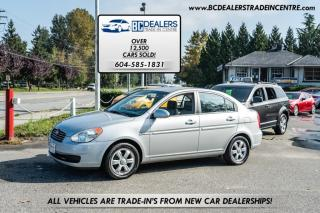 Used 2006 Hyundai Accent Low 132k, Power Group, Alloy Wheels, Heated Seats, Auto! for sale in Surrey, BC